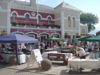 Islands 'Genuine Jersey' Market in St Aubin's