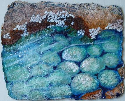 Part of Naomi Renouf's Rocky Pools series