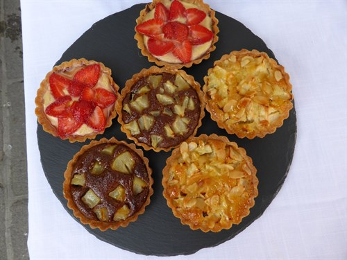 Fruit Tartlets from Posh Pies