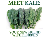 Kale - Not just a superfood!