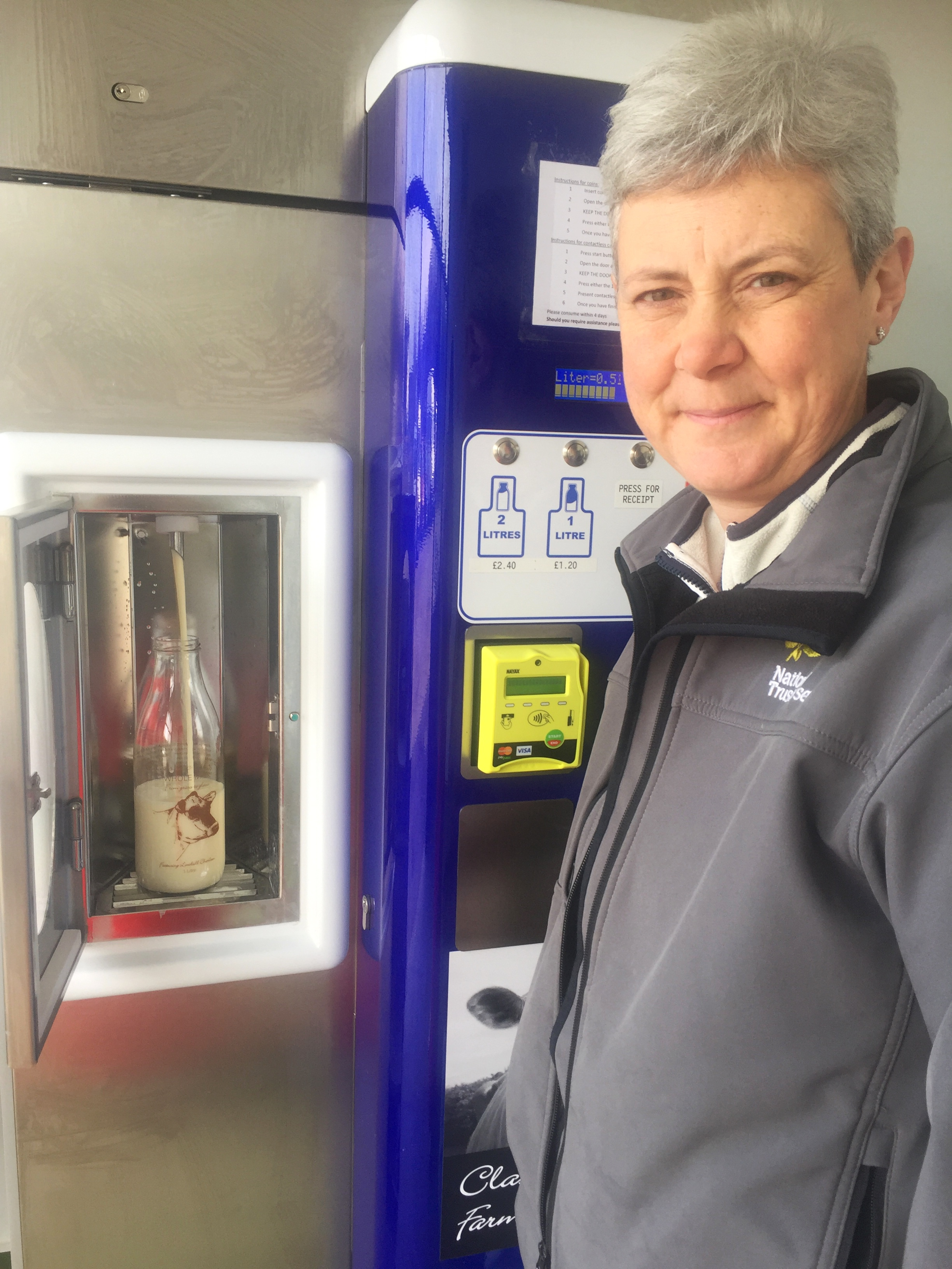 Classic Herd launches milk vending machine