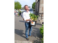 Record breaking results for potato growing competition