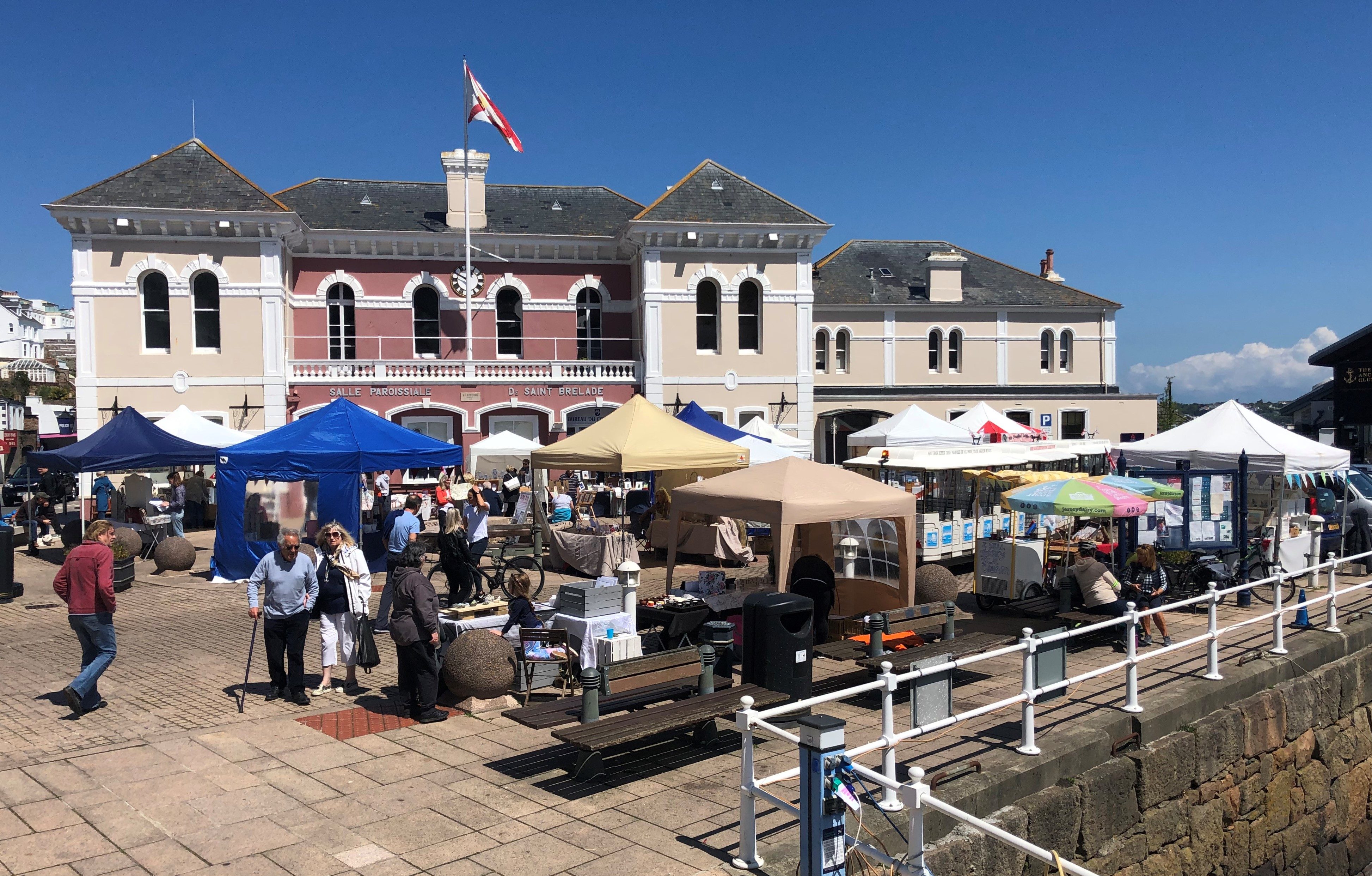 Genuine Jersey holds first market of the year in St Aubin