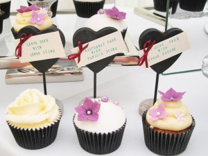 A selection of cupcake flavours are available from Pat-a-Cakes
